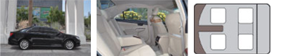 CAMRYカムリ(TOYOTA):4席(運転席含む)